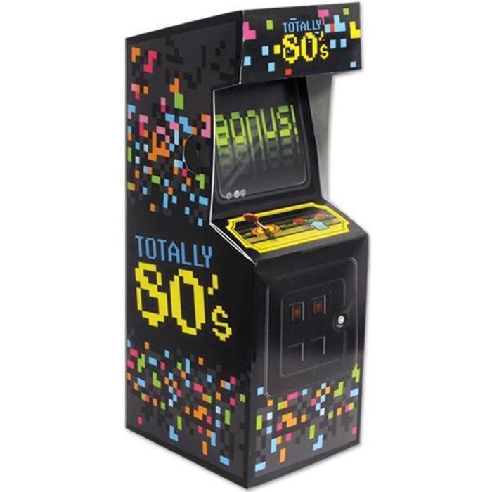 Centre de table Mini Arcade Jeu vidéo Années 80's