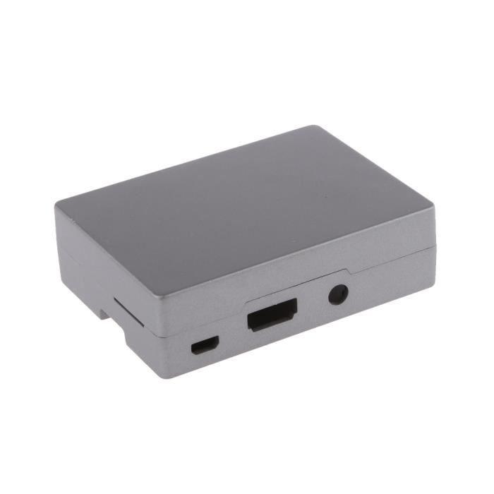 BOITIER PC - PANNEAUX LATERAUX 1x Raspberry Pi Enclosure Case Vis 4x tampons 4x pied