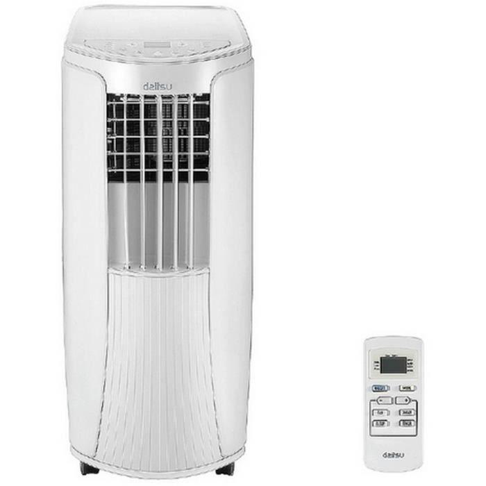 Climatisation portative daitsu 2640 Watts 40m² 10 000 BTU 4en1 : Clim deshumidificateur ventilateur chauffage mobile