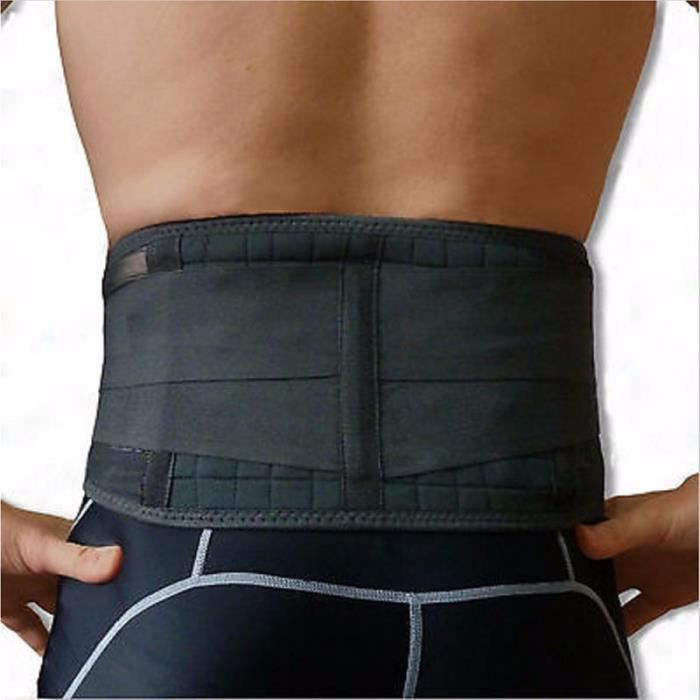Support dorsal avec 20 aimants Sangle lombaire Ceinture Ceintures
