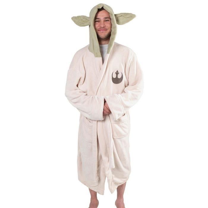 Déguisement Adulte Star Wars Yoda Robe De Bain
