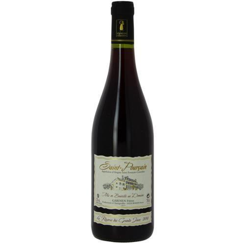 6 bouteilles - Vin rouge - Tranquille - DOMAINE GARDIEN FRERES RESERVE DES GRANDS JOURS Saint-Pourçain Rouge 2016 6x75cl