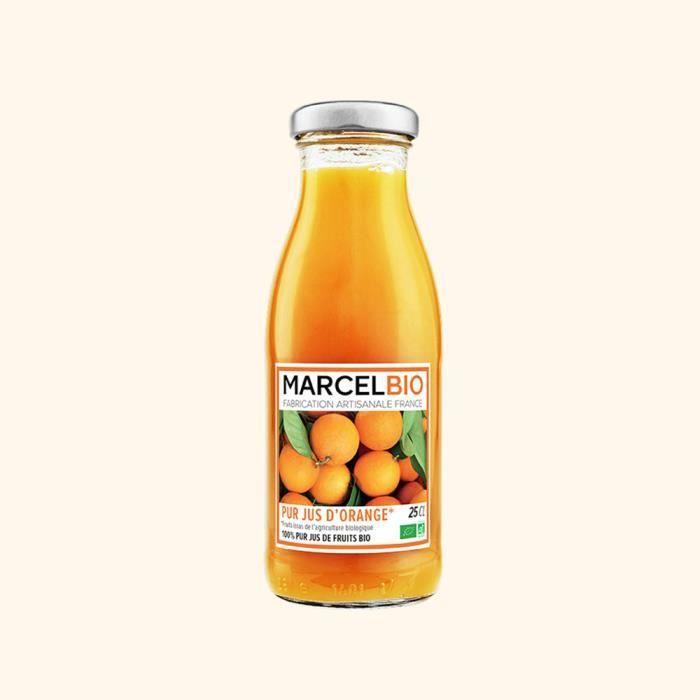 Marcel Bio - Pur Jus d'Orange Bio 25cl