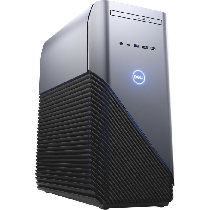 Unite Centrale DELL Inspiron 5000 - Core i7-8700 - RAM de 16 Go - Disque dur 1To+128Go SSD - NVidia GTX1060 - Windows 10