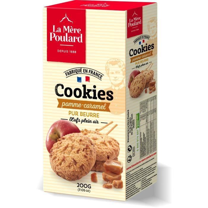 Cookie pomme/caramel 200g La mère Poulard