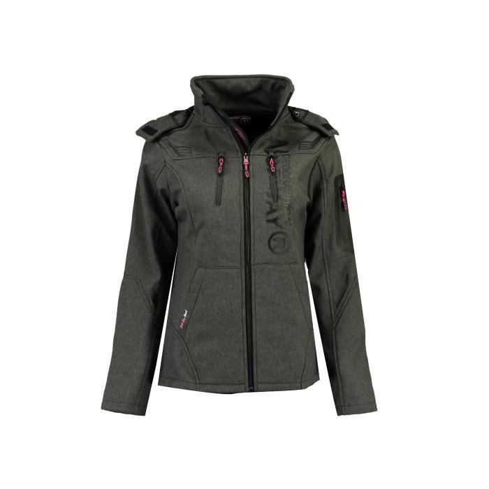 Softshell Femme Geographical Norway Truffe Gris