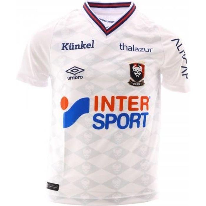 SM CAEN Maillot Football Blanc Garçon Umbro 2018/19