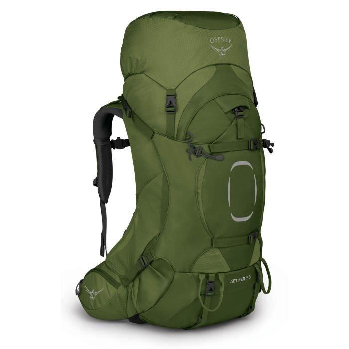 Osprey Aether 55 L / XL Garlic Mustard Green [123172] - sac à dos sac a dos