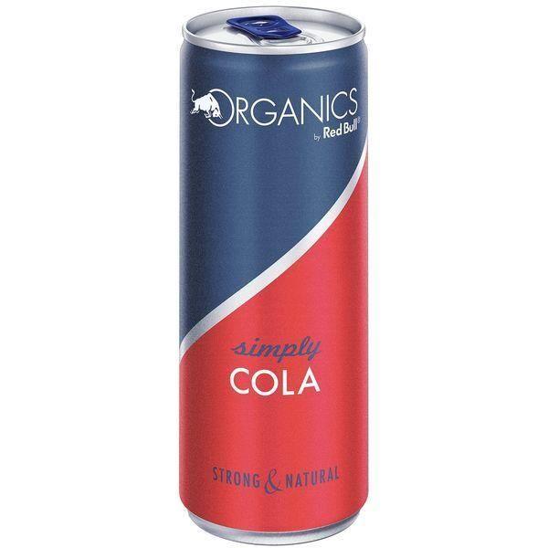 Red Bull Organics Simply Cola 12 x 0,25l
