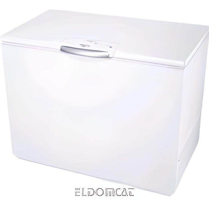 Whirlpool WHE39392 T Autonome Coffre 390L A++ Blanc congélateur - Congélateurs (Coffre, 390 L, 18 kg-24h, SN-T, A++, Blanc)