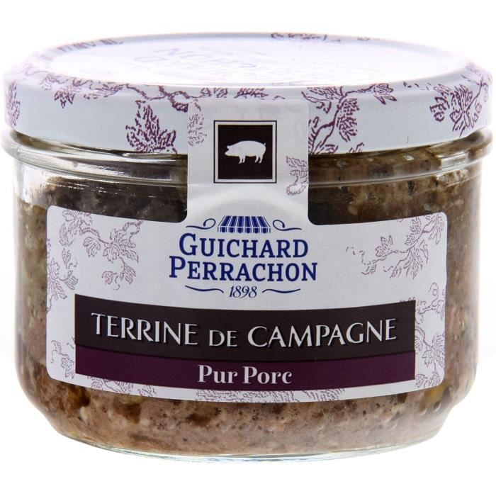 GUICHARD PERRACHON Terrine campagne - 180 g