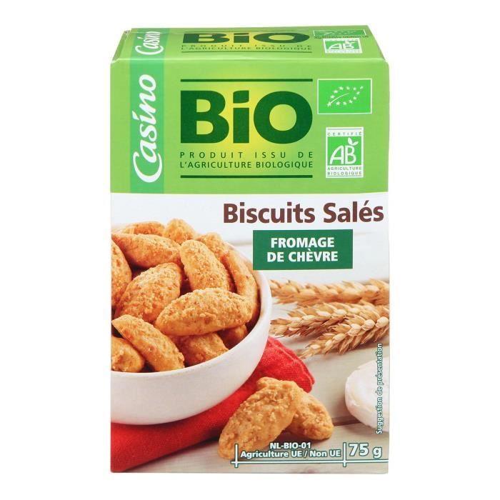 Biscuits chèvre - Biologique - 75 g