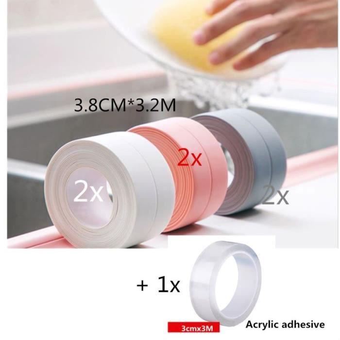 Sourcing Map Bande d/étanch/éit/é rectangulaire en caoutchouc 40 mm de large 3 mm d/épaisseur Noir 1 m de long