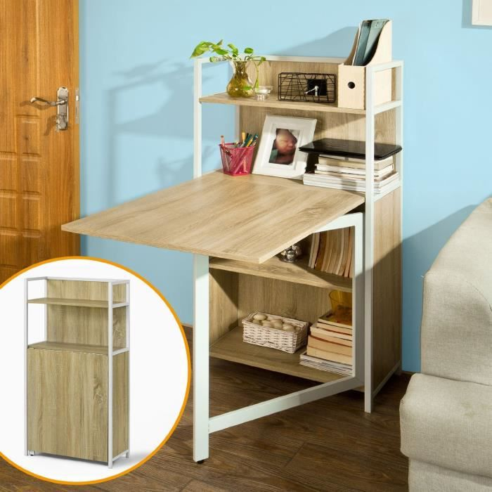 Table pliante armoire avec table pliable int gr e table - Table de cuisine pliable ...