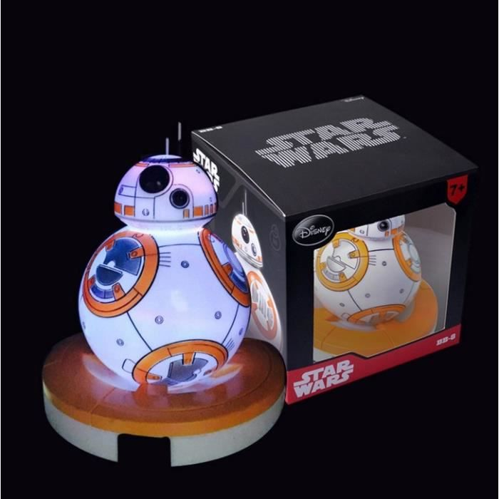 robot star wars bb 8 star wars star wars 7 led veilleuse achat vente robot star wars bb 8. Black Bedroom Furniture Sets. Home Design Ideas