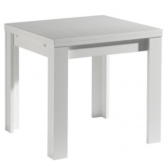 Table carre avec rallonge achat vente table carre avec for Table a manger carre extensible
