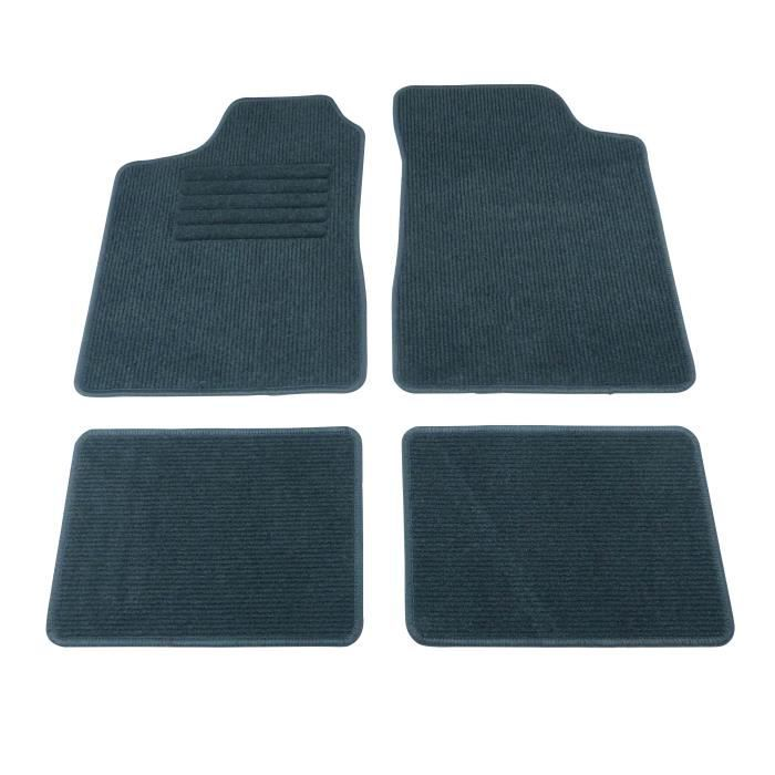 tapis de sol 4pcs type b elite gris achat vente tapis de sol tapis de sol 4pcs type b e. Black Bedroom Furniture Sets. Home Design Ideas