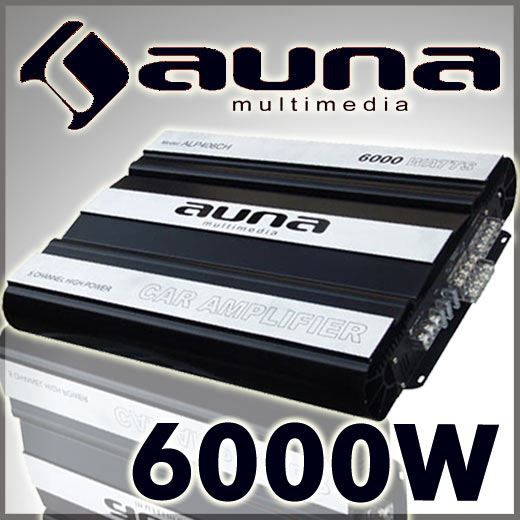 auna ampli auto 5 x 160w rms amplificateur pour voiture avec technologie mosfet bass boost. Black Bedroom Furniture Sets. Home Design Ideas