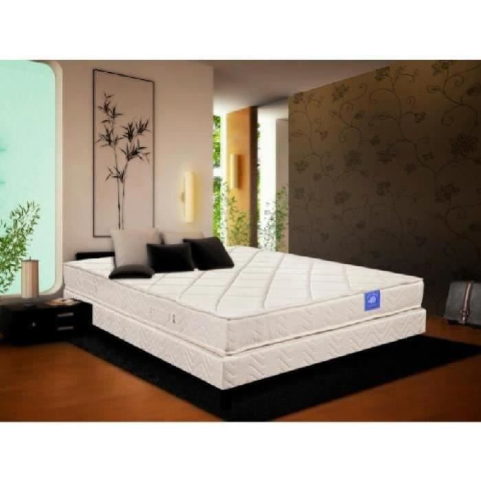 belle literie rubisens matelas sommier 100 latex 160x200 cm achat vente ensemble literie. Black Bedroom Furniture Sets. Home Design Ideas
