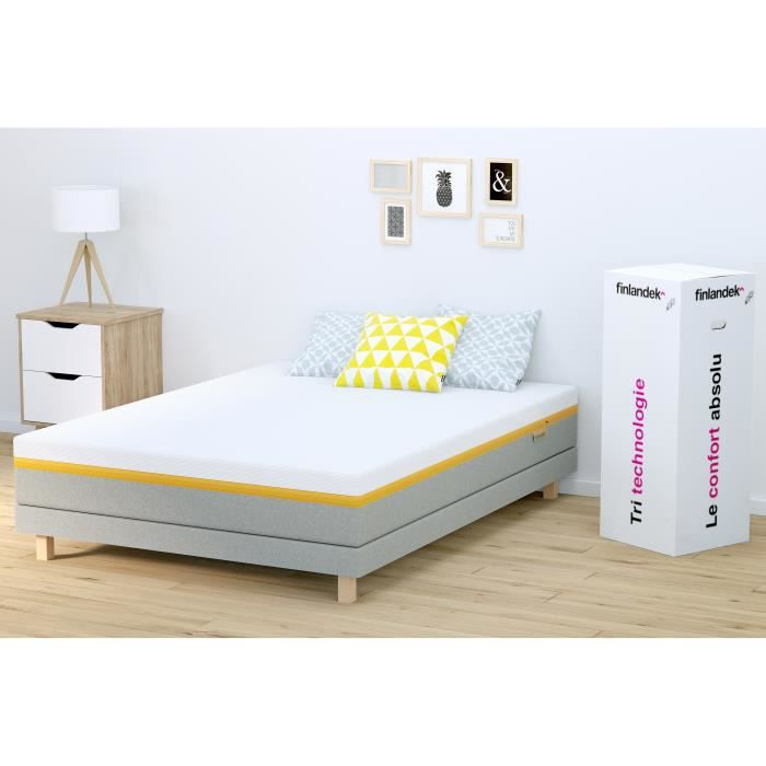 matelas finlandek 160x200 achat vente pas cher. Black Bedroom Furniture Sets. Home Design Ideas