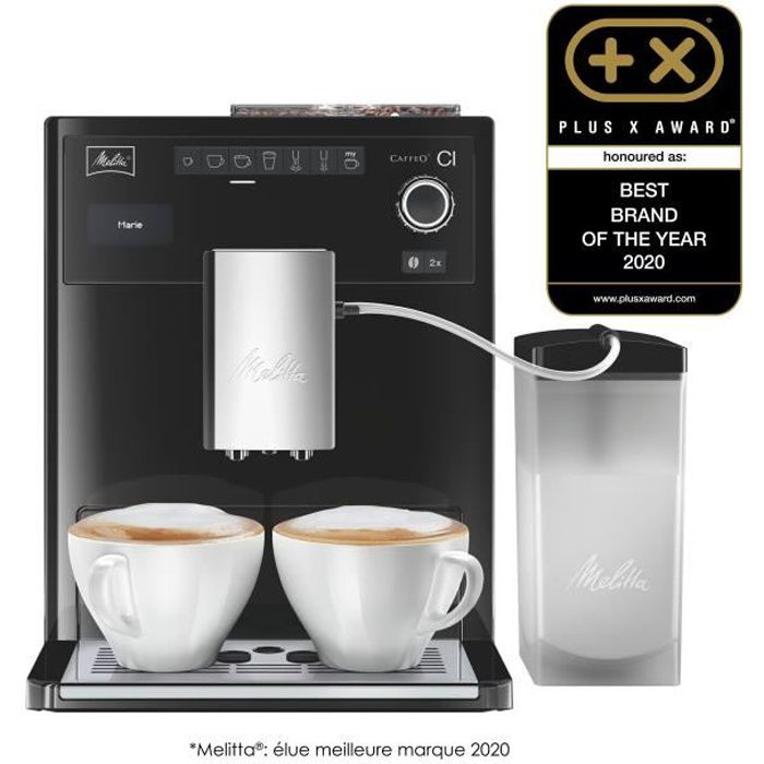 melitta e970 103 machine expresso automatique avec broyeur caffeo ci noir achat vente. Black Bedroom Furniture Sets. Home Design Ideas