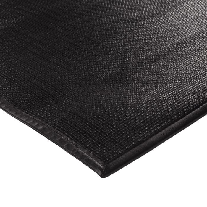 skin tapis 55x85 cm noir achat vente tapis cdiscount. Black Bedroom Furniture Sets. Home Design Ideas