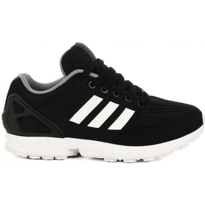adidas - baskets zx flux noir noir