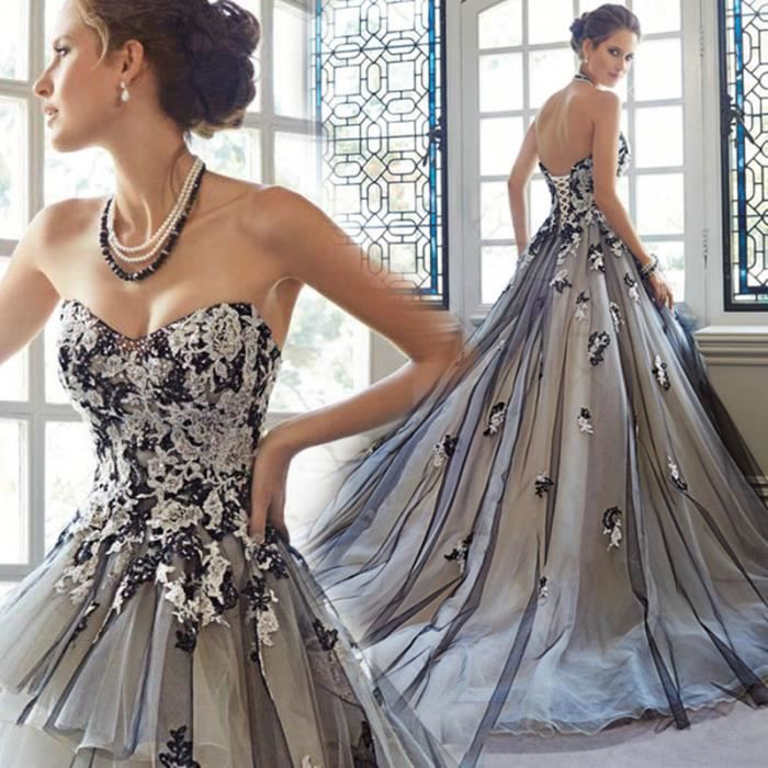 Plus la taille robe de mariée femmes robe