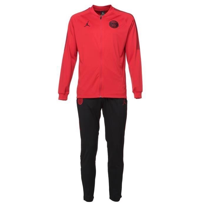 online store finest selection thoughts on NIKE Jordan Survêtement de football PSG - Rouge et noir ...