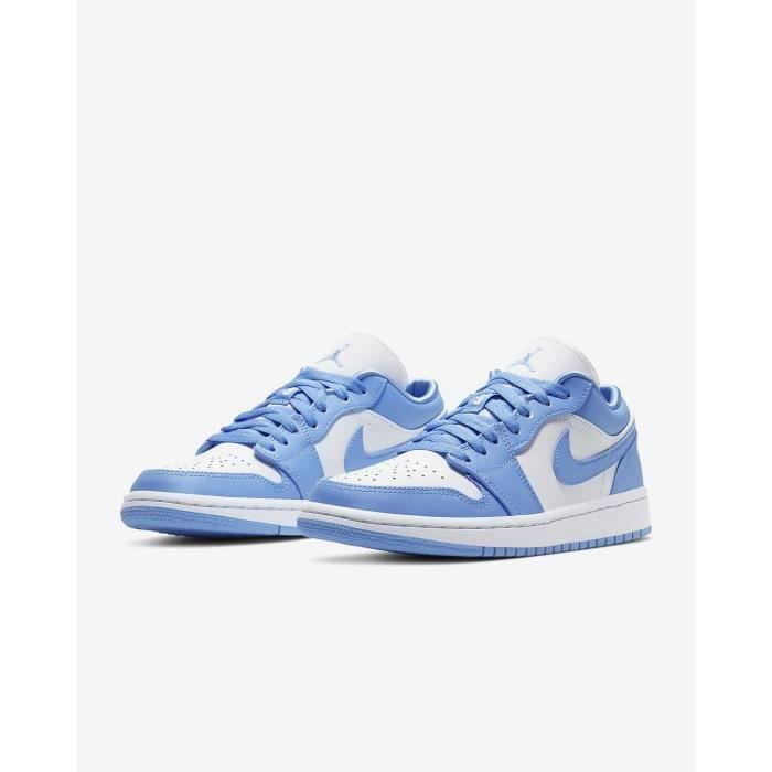 Basket NIKE air Jordan 1 Low Bleu Chaussures de Jo