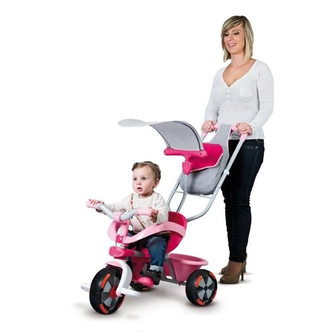 smoby tricycle baby driver v confort fille achat vente. Black Bedroom Furniture Sets. Home Design Ideas