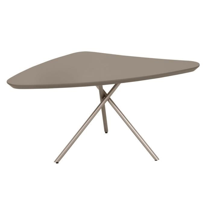 table basse triangulaire perriand charlotte furniture design here now the table basse plateau. Black Bedroom Furniture Sets. Home Design Ideas