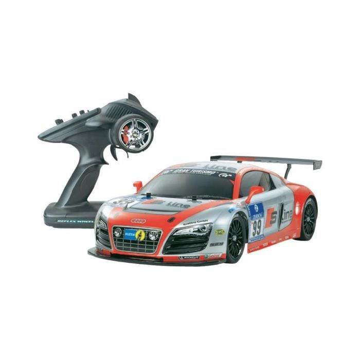 voiture lectrique tamiya 1 10 audi r8 lms 4wd achat vente voiture camion voiture. Black Bedroom Furniture Sets. Home Design Ideas