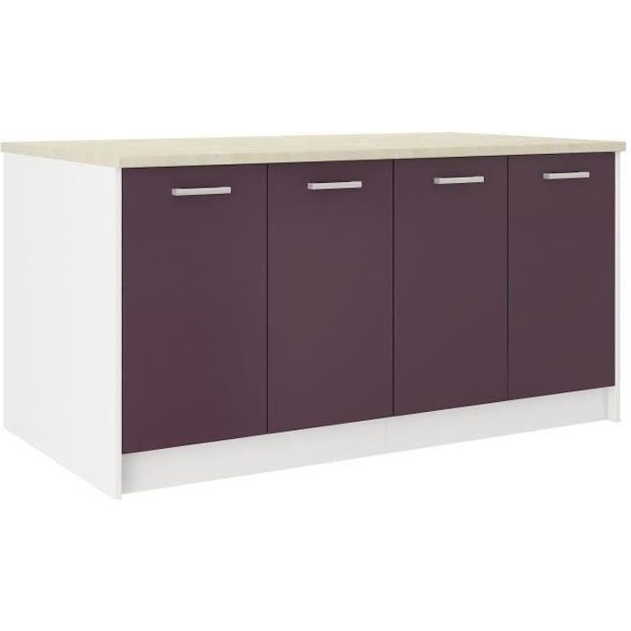 souvent plan de travail aubergine ud08 montrealeast. Black Bedroom Furniture Sets. Home Design Ideas