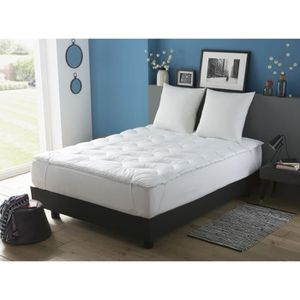 surmatelas achat vente surmatelas pas cher cdiscount. Black Bedroom Furniture Sets. Home Design Ideas