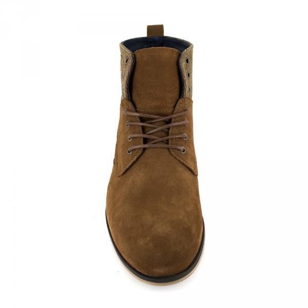 Bottine J.Bradford Cuir CamelJB-APOLO - Couleur - Camel