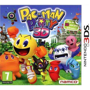 JEU 3DS Pac-Man Party 3D Jeu 3DS
