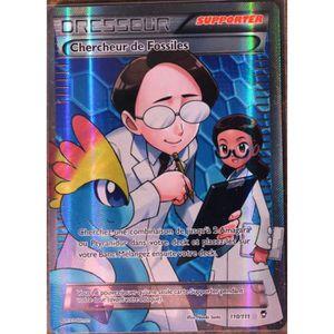 CARTE A COLLECTIONNER carte Pokémon 110-111 Chercheur de Fossiles ULTRA