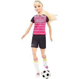 POUPÉE BARBIE - Barbie Footballeuse Articulée - Poupée Ma