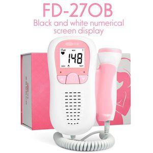 SET DE SOIN fœtal Doppler ultrasons bébé battement de coeur dé