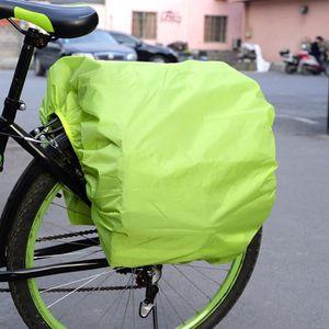 BÂCHE DE PROTECTION Housse de pluie de vélo - Pour sacs à l'arrière du