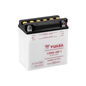 BATTERIE VÉHICULE YUASA 12N9-4B-1 Batterie de Moto