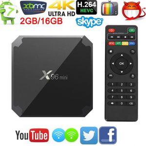 BOX MULTIMEDIA Décodeur Multimédia TV Box X96 Mini 2GB + 16GB And