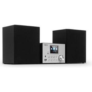 RADIO CD CASSETTE Chaîne HiFi - auna Streamo - avec radio Internet D