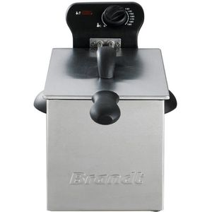 FRITEUSE ELECTRIQUE Friteuse semi pro 2000w 3l 1kg th° demontable inox