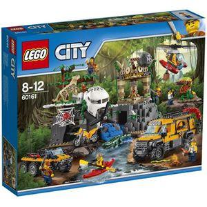 ASSEMBLAGE CONSTRUCTION LEGO® City 60161 Exploration de la Jungle