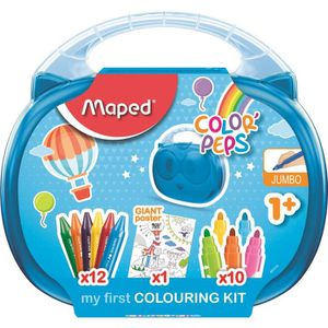 FEUTRES MAPED Malette de coloriage Early Age