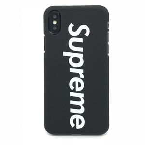 supreme coque iphone x
