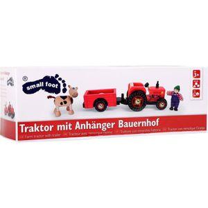 TRACTEUR - CHANTIER Small Foot - Tracteur avec remorque - Ferme - Age: