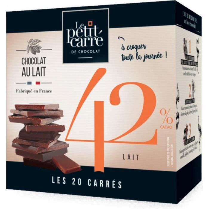 Le Petit Carre De Chocolat Chocolat au lait